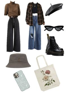 Fall Outfits, Casual Outfits, Cute Outfits, Young Justice, Casual Clothes, Pretty Clothes, Retro Outfits, Thrifting, My Style