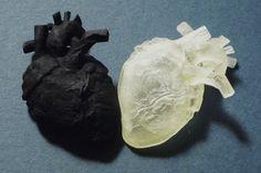 3D Heart #3dPrintedMedicalBiotech