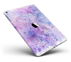 Blotted Pink and Purple Texture Full Body Skin for the iPad Pro or available) - Ipad Pro - Trending Ipad Pro for sales. - Blotted Pink and Purple Texture Full Body Skin for the iPad Pro or available) from DesignSkinz Cute Ipad Cases, Ipad Mini Cases, Ipad Air Case, Coque Ipad Mini, Macbook Pro, Iphone 5se, Apple Watch Iphone, Accessoires Iphone, Ipad Accessories