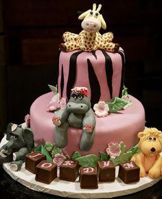 Safari birthday cake by King's Kakery
