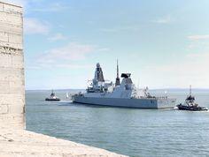 HMS Diamond deploys to Mediterranean to help tackle arms trafficking