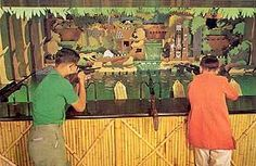 1962 - Attractions opened and closed; Big Game Safari Shooting Gallery opens. Main Street Shooting Gallery & Mineral Hall closes
