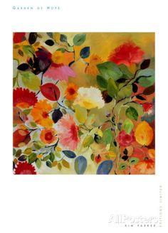Jardín de esperanza Lámina por Kim Parker en AllPosters.es