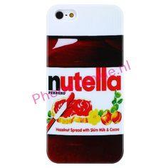 lekker Nutella hoesje voor de iPhone 5. -