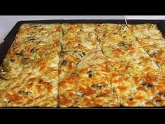 3 KAŞIK UN ile Kocaman Bir Tepsi ister Börek Ister Mücver deyin - YouTube Turkish Recipes, Homemade Beauty Products, No Carb Diets, Bread Baking, Food Videos, Bread Recipes, Brunch, Food And Drink, Snacks