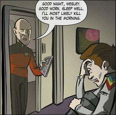 Dread Captain Picard - Imgur