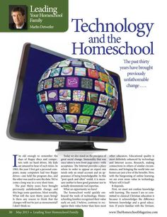 Technology and the Homeschool by Marlin Detweiler