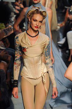 Jean Paul Gaultier at Paris Fashion Week Spring 2012