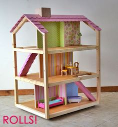 Ana White | Build a Dream Dollhouse | Free and Easy DIY Project and Furniture Plans