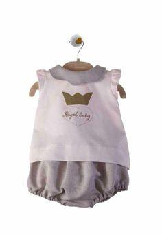Pagliaccetto per neonata ispirato alla nascita del Royal Baby. Design esclusivo de La Stupenderia. Disponibile su http://shop.annameglio.com