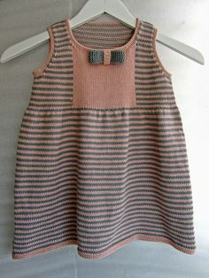 Ravelry: #14 Striped Dress pattern by Debbie Bliss