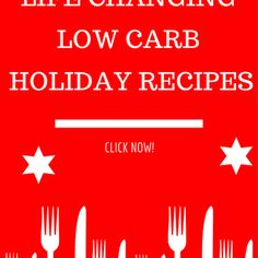 Low Carb Thanksgiving & Holiday Recipes
