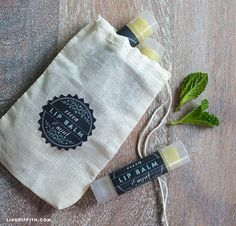 Printable Labels for a Homemade Spa Kit