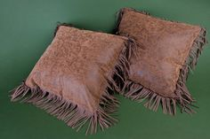 Simply Sweet fringed western pillow set by Lizzy & Me