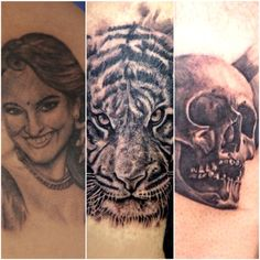 Portrait tattoo done by : Amir shaikh