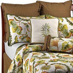 Fan Foliage Quilt, 100% Cotton