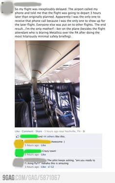 Best flight ever!