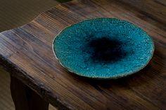 緑釉大皿 - 山田 義力 | 陶芸・ガラス | フラッグシップ沖縄 - Flagship OKINAWA