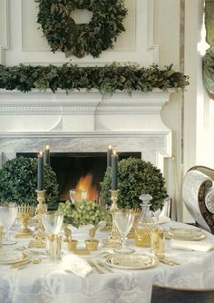Winter's Little Known Myth + Exquisite Christmas Decorations - laurel home | gorgeous decor by Carolyne Roehm