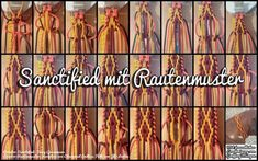 Sanctified mit Rautenmuster