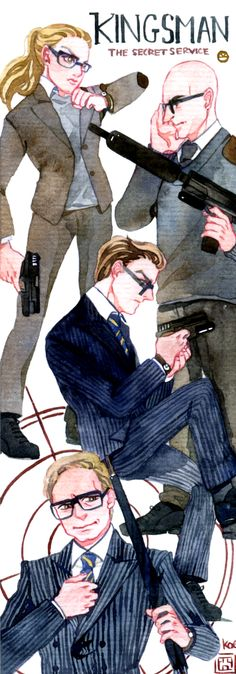 Kingsman - The Secret Service by Koecha