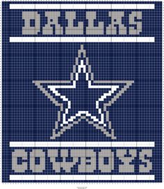 Stitch Fiddle is an online crochet, knitting and cross stitch pattern maker. Crochet C2c Pattern, Afghan Crochet Patterns, Free Pattern, Cross Stitch Pattern Maker, Cross Stitch Patterns, Dallas Cowboys Blanket, Cowboy Crochet, Cowboy Crafts, Crochet Football