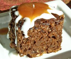 Gluten Free Foodie Heaven: Gingerbread Cake