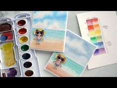 Warm vs. Cool Colors + How to Watercolor a Beach Scene – kwernerdesign blog