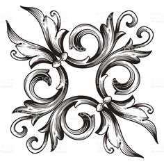Vector Page Decorations royalty-free stock vector art