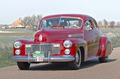 1941 Cadillac Series 62 Coupe 5.7L Monoblock V8 150bhp Engine (image by Clay