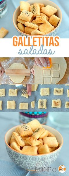 Biscuits apéritif faits maison, Recette Ptitchef - Expolore the best and the special ideas about Budget freezer meals Gourmet Recipes, Cookie Recipes, Healthy Recipes, Tapas, Budget Freezer Meals, Good Food, Yummy Food, Salty Foods, Food Print
