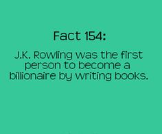 Well, that tells who the obvious the best writer in the world is!