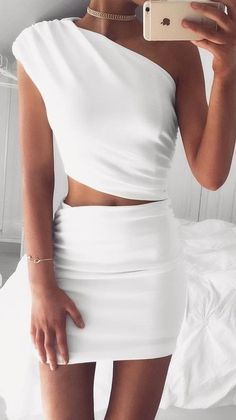 #summer #coolest #outfits | White Cassidy Dress