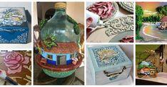 Aprende cómo hacer hermosas manualidades con pasta de relieve casero Diy Crafts To Do, Glue Crafts, Pasta Flexible, Quilling, Ideas Para, Decoupage, Stencils, Decorative Boxes, Alcohol