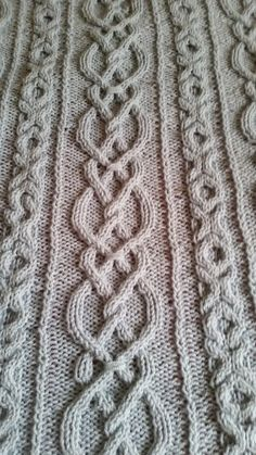 Lovers Knot Afghan--Finally Finished--k