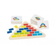 Ce puzzle triangle GOKI est un casse-tête original qui permet de développer le repérage dans l'espace, la réflexion et la patience de votre enfant !Le jeu consiste à disposer les pièces du puzzle de façon à ce qu'ils correspondent au modèle choisi. Le modèle est posé face briques en...