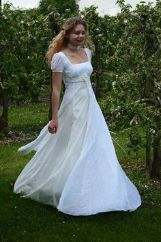 Hochzeitskleid Empire-Stil