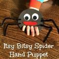 Linked to: lalymom.com/2014/02/itsy-bitsy-spider-finger-puppet.html