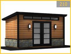 Backyard Storage Sheds, Storage Shed Plans, Backyard Sheds, Garden Sheds, Shed Design, Garage Design, Cabana, Patio Plus, Garden Office Shed