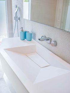 KRION Solid Surface en una vivienda de Mallorca, Jle studio