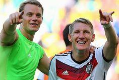 Manuel Neuer, Bastian Schweinsteiger
