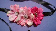 Sash, brooch or flower diadem - DIY