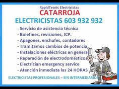 Electricistas CATARROJA 603 932 932 Baratos