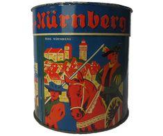 Vintage German Lebkuchen Tin