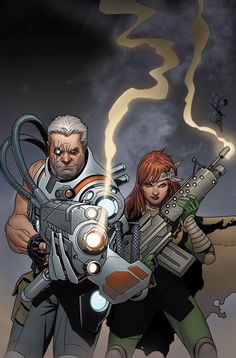 CABLE AND X-FORCE #15  ENNIS HOPELESS (W)  SALVADOR LARROCA (A/C)  THOR BATTLE VARIANT by TBD • Father and daughter are reunited as Cable's and Hope's separate missions converge! • Cable has finally solved one of his most vexing problems – but a dozen more are still on the horizon! • There's no rest for the weary as Hope, Cable, and the rest of X-Force converge to tackle an ominous new threat!  32 PGS./PARENTAL ADVISORY…$3.99