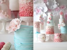 Sweet Tooth: Dessert Table: Gradient Goodness