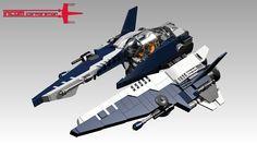 Incom RZ-2b Prototype by BobDeQuatre http://flic.kr/p/nAXfCH