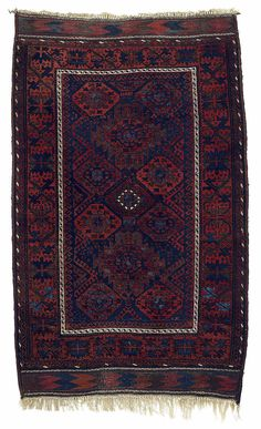 Chakhansur Baluch rug from north west Afghanistan (late 19th century).