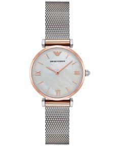 Emporio Armani Women's Gianni Stainless Steel Mesh Bracelet Watch 32mm AR2067
