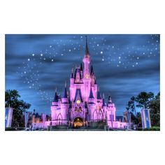 Fairytale Castle Mural Wallpaper ❤ liked on Polyvore featuring home, home decor, wallpaper, fairy tale wallpaper, pink wallpaper, navy home decor, navy blue home decor and dark blue wallpaper